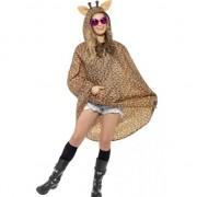 Smiffys Party regenponcho giraffe