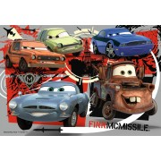 Puzzle Ravensburger - Disney Cars, 15/20/25 piese (07227)