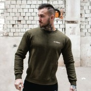 GymBeam Duksa Basic Military Green White XL