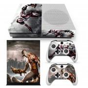 Xbox One S Skin Estampa Pegatina - God Of War