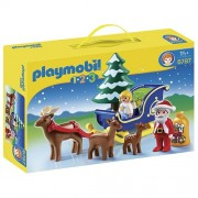 PLAYMOBIL Santa with Claus Reindeer Sleigh Playset