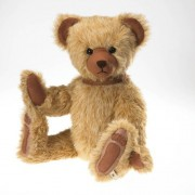 """Brooks Mc Suede By Boyds Bears 14"""" Plush Suede Bear (Heirloom Collection)"""