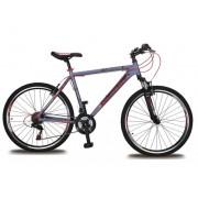 Olpran muški gorski bicikl Challenger 26, crveno-sivo, 18