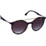 Vogue Round Sunglasses(Brown)