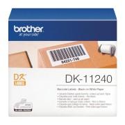 Brother 600 ETICH AD CAR NER0 BIANC 102X51 - DK11240