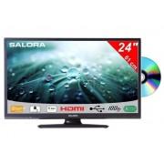 Salora 24 Inch LED TV 9109 met Dvd