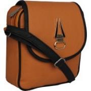 LI LEANE Women Tan Leatherette Sling Bag