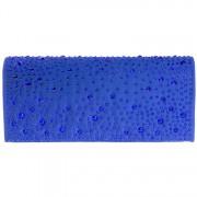Avondtasje blauw met strass