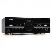 Auna Amplificador Home Cinema HiFi. 600 W, color negro (AV1-AMP-218-B-V2)