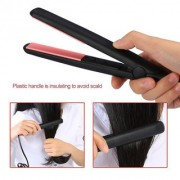 Ceramic Plate Travel 18W Electronic Hair Straighteners Professional Fast Warm-up Hair Styling Straightening Iron EU Plug