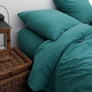 Maison Tilleul Housse de couette en percale lavée