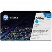 Cartucho de Tóner HP 646A Laserjet-Cian