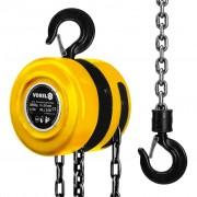 VOREL Chain Block 3000 kg Steel Yellow 80753