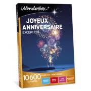 Wonderbox Coffret cadeau Joyeux anniversaire Exception - Wonderbox