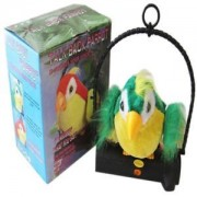 Tradico® TradicoBrand New Waving Wings Talking Talk Parrot Imitates & Repeats What You Say Gift Funny Toy