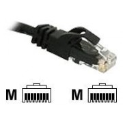 Cables to Go Cat6 Snagless Crossover Patch Cable - Câble inverseur - RJ-45 (M) - RJ-45 (M) - 2 m - UTP - ( CAT 6 ) - Moulé, Toronné, Sans crochet - noir