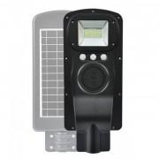 Proiector Stradal 60 W, Conectare Boxa Bluetooth, Panou Solar, Telecomanda, Senzor De Miscare
