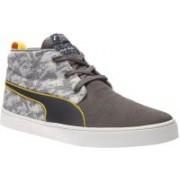 Puma Red Bull IRBR Desert Boot Vulc SBE Motorsport Shoes For Men(Grey)