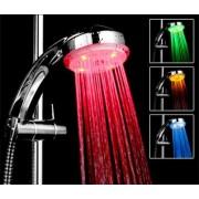 Ledes színterápiás zuhanyfej színváltós