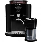Espressor automat Krups Latte'Express EA829810, 1450 W, 15 bari, Râşniţă de cafea metalică, 1.7 L, Display LCD, Recipient lapte, Negru