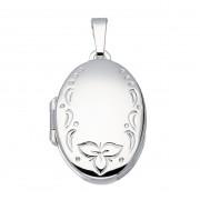 Best Basics Zilveren Hanger Medaillon Ovaal 17 x 26 mm 145.0097.00