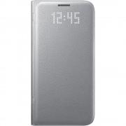 Husa Agenda Led View Argintiu Samsung Galaxy S7 Samsung