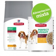 Pack alimentación mixta: pienso 7,5 a 12 kg + 6 x 363/370 g Hill's Science Plan Canine - Adult Medium Advanced Fitness con pollo (12 kg) + Adult Advanced Fitness pollo (6 x 370 g)