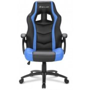 Sharkoon gamerski stol Shark SGS1, crno/plavi