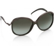 Roberto Cavalli Over-sized Sunglasses(Green, Grey)