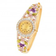 Womens Fancy American Diamond Studded Watch Buy Designer Watches for Womens online