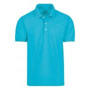 TRIGEMA Comfort Fit Poloshirt Kurzarm türkis, Einfarbig Herren XL türkis