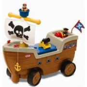 Jucarie interactiva 2in1 Little Tikes Barca pentru bebelusi cu sunete si figurine