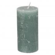 Dille&Kamille Bougie bloc, vert eucalyptus, 6 x 12 cm