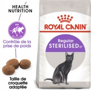 Royal Canin Sterilised 37 pour chat stérilisé - 10 kg