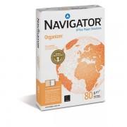Carta 4 fori Organizer Navigator A4 80 g/mq 110 µm 1581UN (conf.5)