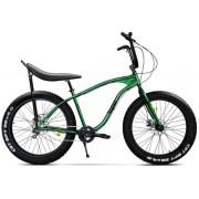 "Bicicleta Pegas Cutezator EV Banana, Cadru 17"", Roti 26"", 7 Viteze (Verde)"