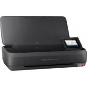 """HP Officejet 252 Mobile Printer, print/copy/scan, 4800x1200dpi, 10/7ppm, 600dpi scan, 2.65"""", USB2.0/Wi-Fi (N4L16C)"""