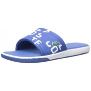 Lacoste Men's L. 30 Slide 217 1, Blue, 8 M US