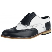 Steelground Shoes Classic Brogue Herren-Schnürschuh