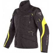 Dainese Tempest 2 D-Dry Jacket Black/Black/Fluo Yellow 52