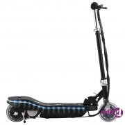 vidaXL Električni skuter s LED svjetlima 120 W crni