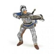 Figurina Papo-Soldat cu arbaleta albastru