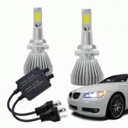 Lampadas Automotiva Multilaser Super Led H27 12V 30W 6200K - AU829
