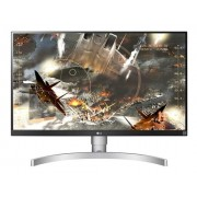 "LG 27UK650-W, 27"" Wide LED, IPS Panel Anti-Glare, Black"