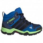 adidas - Kid's Terrex AX2R Mid CP - Chaussures de randonnée taille 35, bleu