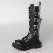 Čizme STEEL - 20 pinhole 139/140 Crno 5P