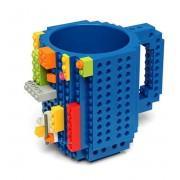 build a brick Lego Mok - Blauw