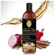 UrbanMooch Natural and Organic Onion Hair Oil for Hair Regrowth Anti Dandruff and for Healthy Scalp 100 ml