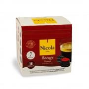Capsule Nicola Cafes Bocage Cremoso, compatibile Dolce Gusto, 16 capsule