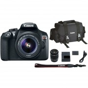 Cámara Reflex Canon Eos Rebel T6 18 Megapixeles-Negro